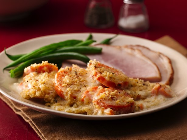 Italian Sweet Potato Gratin