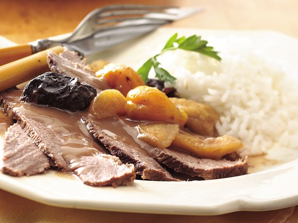 Slow Cooker Sweet and Savory Brisket of Beef