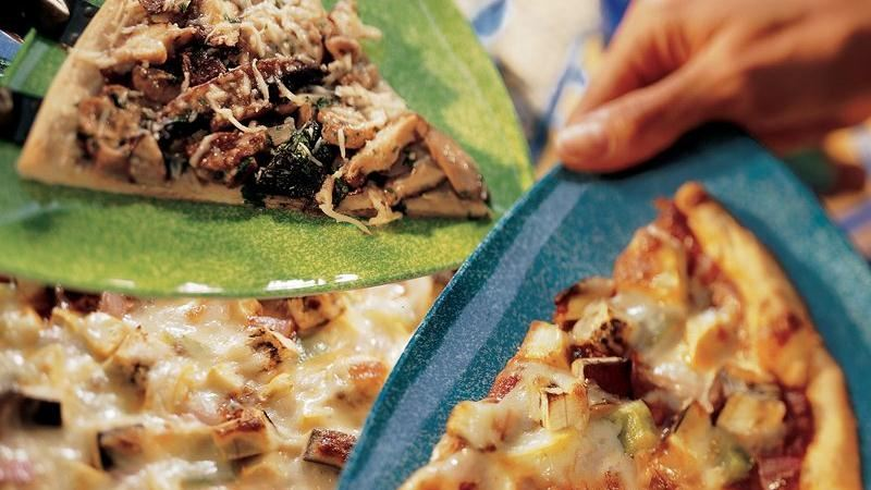 Wild Mushroom Pizza recipe from Betty Crocker