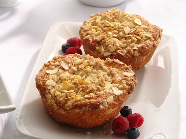 Image of Almond Crumb Cakes, Betty Crocker