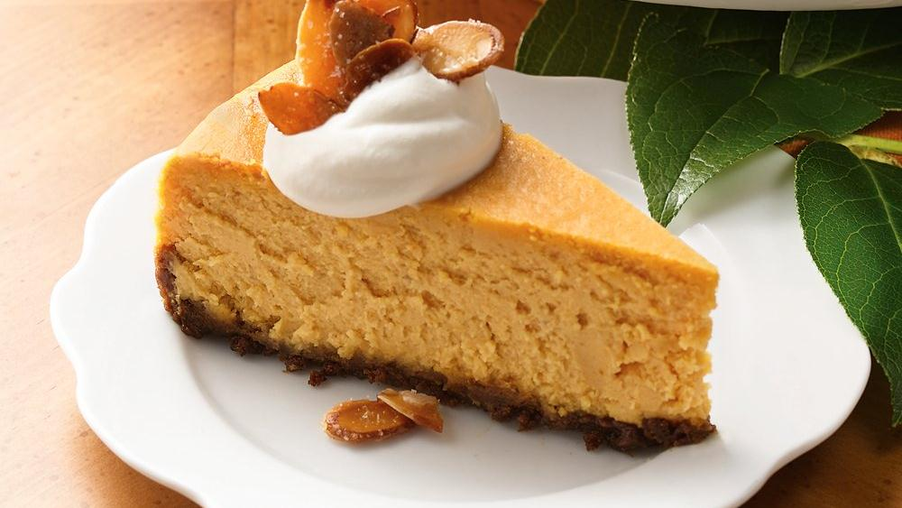 Pumpkin Caramel Cheesecake Recipe — Dishmaps