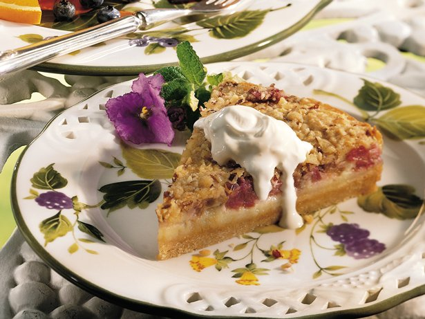 Rhubarb Cream Tart