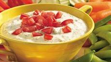 Creamy Pesto Dip Recipe