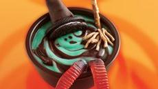 Melting Witch Pudding Cups Recipe