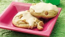 Quick Cashew Cookies with Brown Butter Icing Recipe