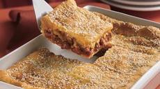 Sloppy Joe Squares Recipe