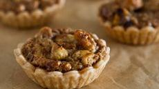 Whiskey Walnut Mini Pies Recipe