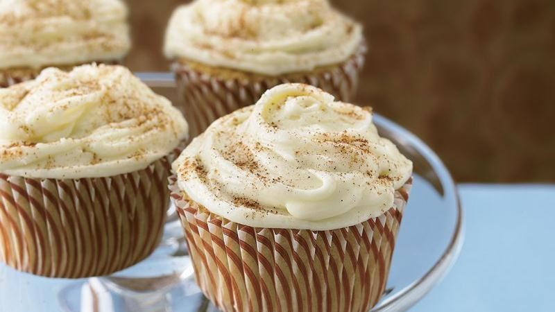 Chai Latte Cupcakes recipe from Betty Crocker
