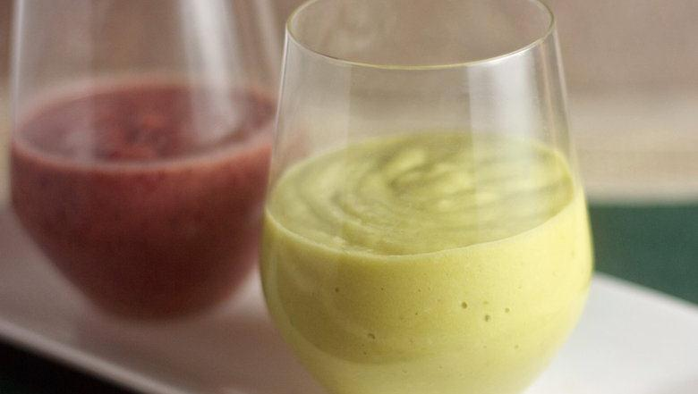 Creamy Avocado Smoothies