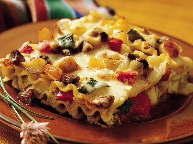 Cheesy Roasted-Vegetable Lasagna