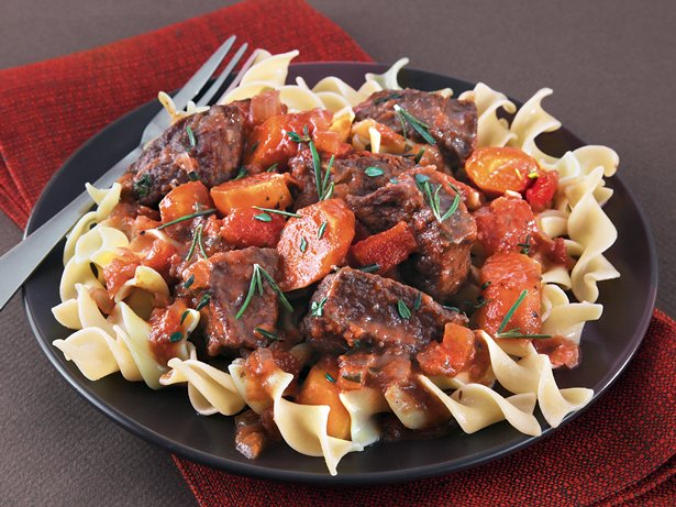 Slow Cooker Beef Daube