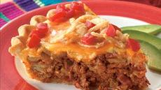 Cheese-Topped Taco Pie Recipe
