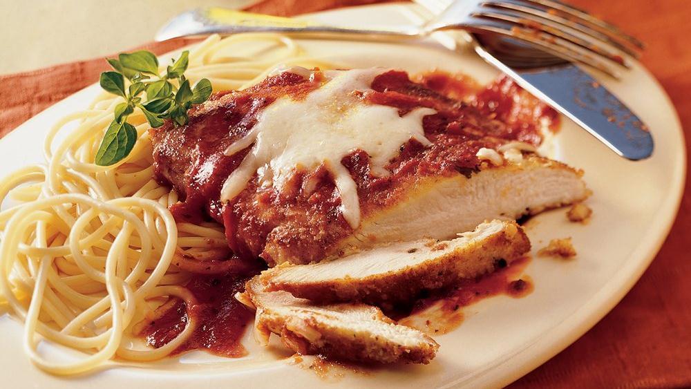 Skillet Chicken Parmigiana