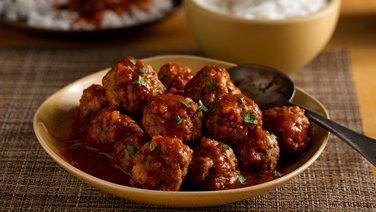 Roasted Tomato Meat Balls