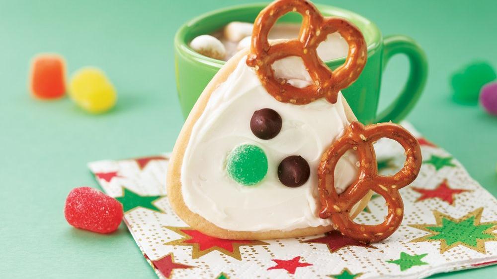 Frosted Reindeer Cookies