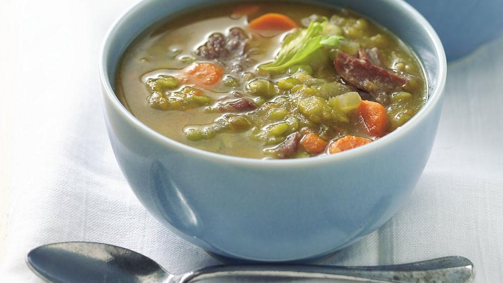 Slow-Cooker Split Pea Soup recipe from Pillsbury.com