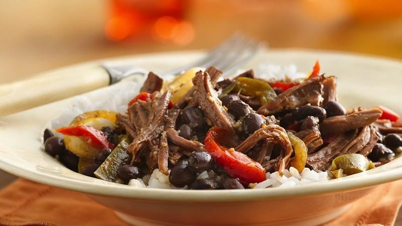 Slow-Cooker Cuban Flank Steak
