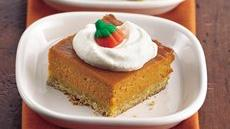 Honey-Pumpkin Dessert Squares Recipe