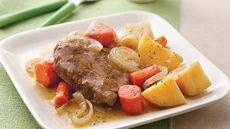 Slow Cooker Pot Roast and Vegetables Recipe