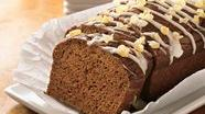 Ginger-Topped Pumpkin Bread