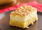 Crme Brle Cheesecake Bars