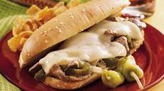 Philly Cheese Steak Sandwiches Recipe