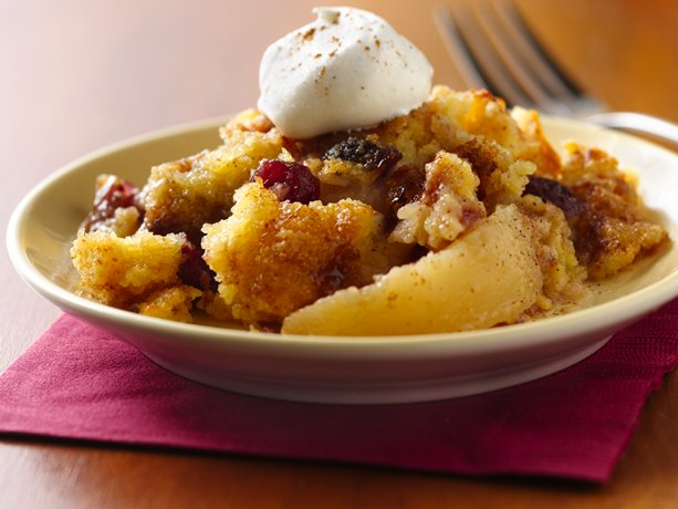 Polenta Pear Cranberry Cobbler | General Mills Convenience and ...