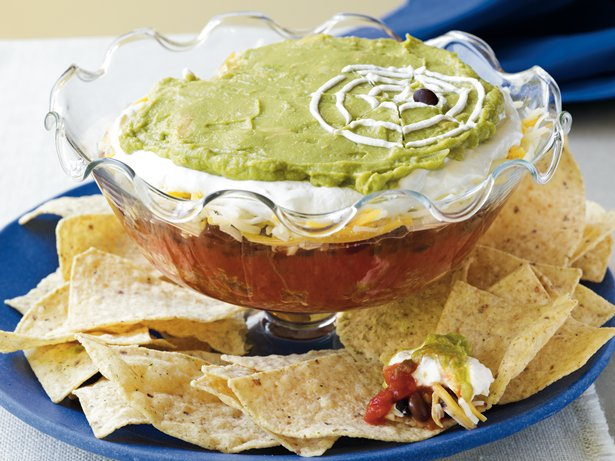 Six-Layer Spiderweb Dip