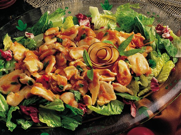 Gluten Free Chicken Salad with Plum Sauce