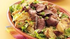 Grilled Caesar Steak and Potato Salad Recipe