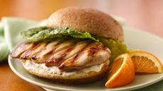 Honey-Grilled Chicken Sandwiches Recipe