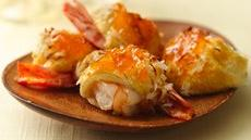 Island Coconut-Shrimp Rolls Recipe