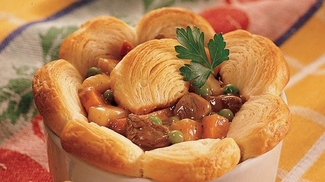Crescent Beef Pot Pies