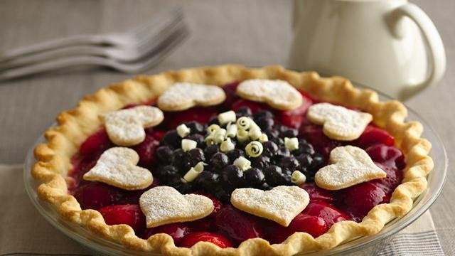 Berry Lover's Delight Pie