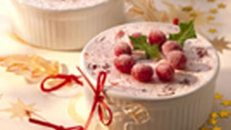 Merry Berry Frozen Soufflé