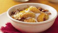 Praline Peach Cobbler Recipe