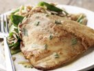 Healthified Seared Tilapia with Lemon-Tarragon Sauce