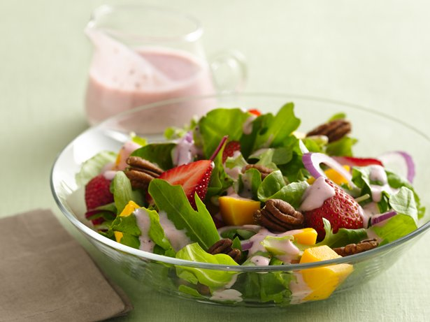 Strawberry-Mango Salad 