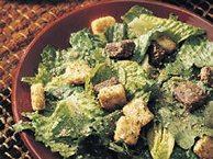 Quick Caesar Salad for a Crowd