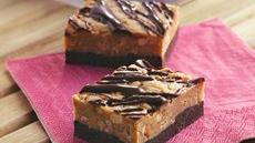 No-Bake Chocolate-Peanut Butter Candy Bars Recipe