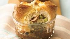 Mongolian Steak & String Beans Pot Pie Recipe
