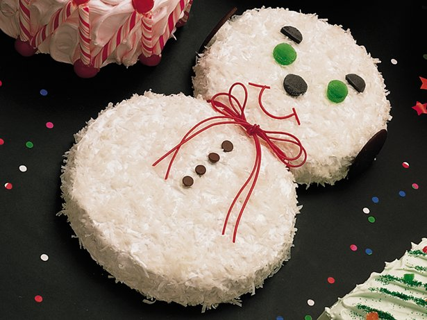 Snowman Cake