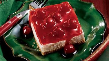 Cherries ´n Cream Dessert Squares