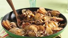 Home-Style Sausage and Potato Skillet Recipe