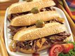 Slow-Cooker Smoky Brisket Hoagies