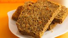 Lemony Carrot-Walnut Bread Recipe