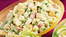 Cheese, Peas and Shells Salad Recipe