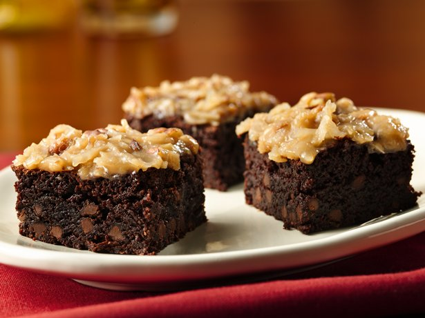 Gluten Free German Chocolate Brownies