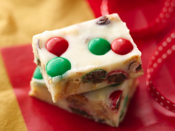 Festive Vanilla Fudge