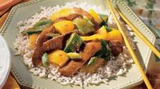 Orange Pepper Steak Recipe
